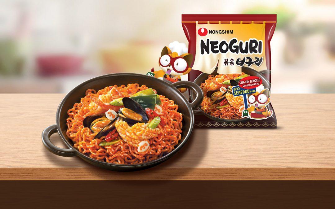Stir-Fry Neoguri & Mc gree