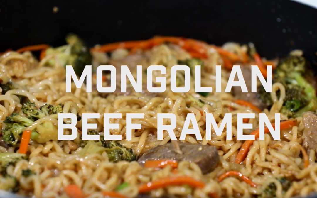[ Recipe Video] Mongolian Beef Ramyun
