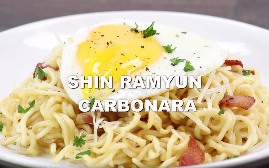 [ Recipe Video] Shin Ramyun Carbonara