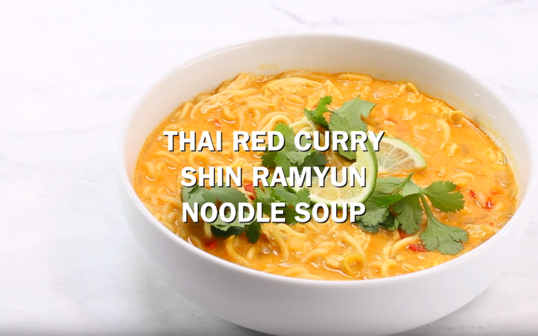 [Recipe Video] Thai Red Curry Ramen Noodle Soup