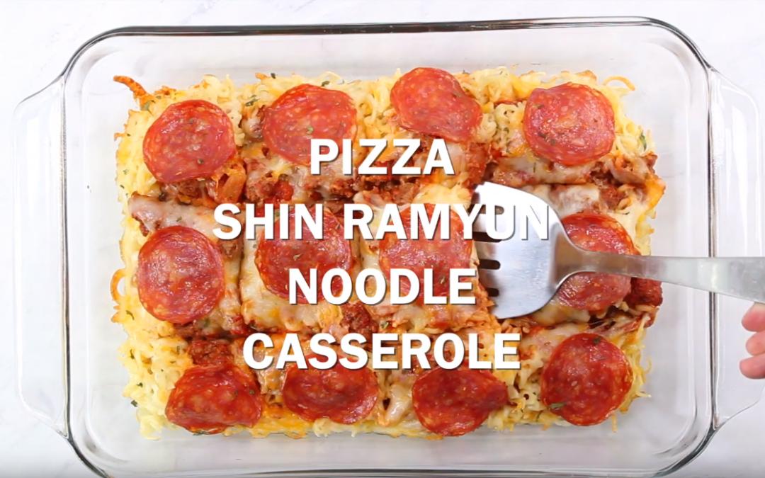 [Recipe Video] Pizza Noodle Casserole