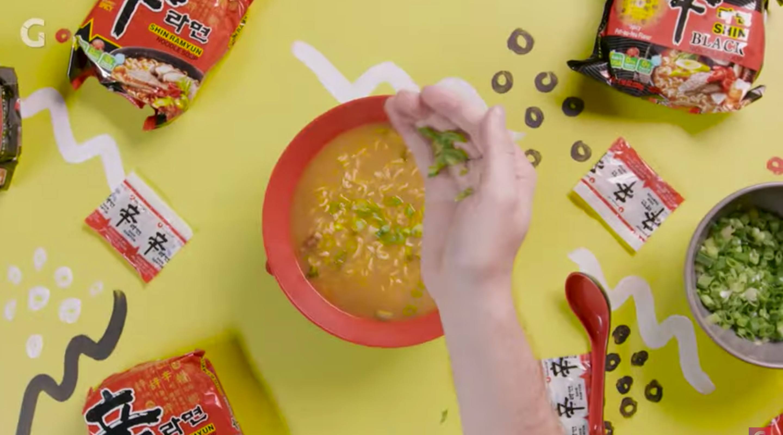 Mamrie Hart Creates A Ramen-Friendly Cocktail | Hot Noodles
